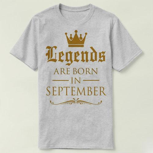 364b958241175 Compre LAS LEYENDAS NACIERON EN Enero Abril Julio Octubre Cumpleaños Tee  Camiseta A  13.08 Del Yusheng555