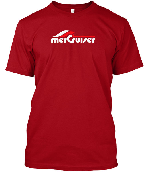 Mercruiser Boating Boot Außenbord Neue W Beliebte Tagless Tee T-Shirt