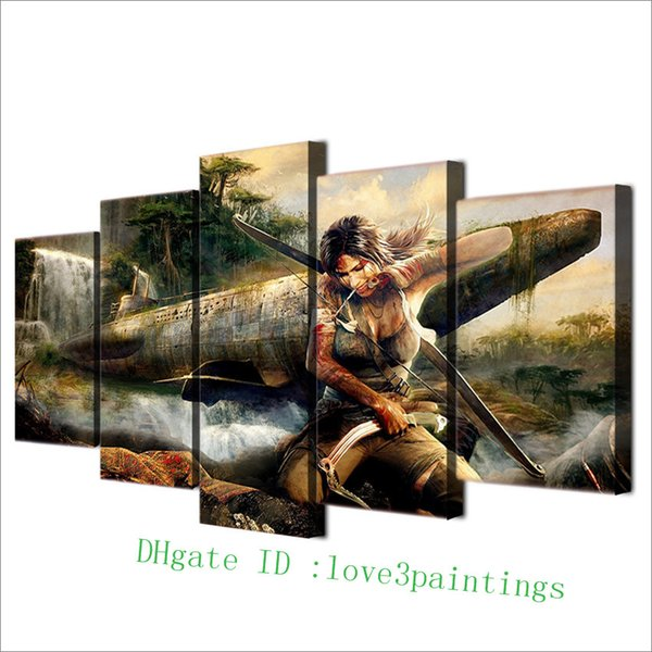 2019 Tomb Raider Group 1,Home Decor HD Printed Modern Art Painting On  Canvas Unframed/Framed From Love3paintings, $17 94 | DHgate Com