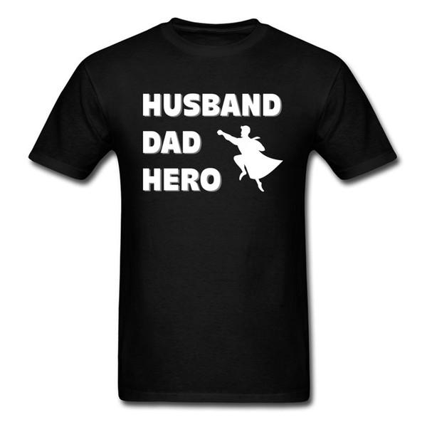 Marido papá héroe personalizado camiseta Plain manga corta hombres camisetas Calidad superior otoño casual camiseta cuello redondo moda al por mayor