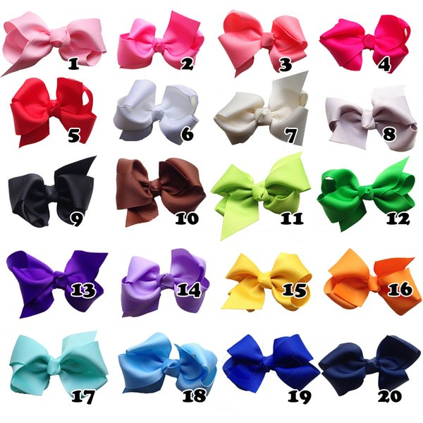 2018 Pet Ribbon ribbed bow Cats Hairpin Grooming Accessories Clips dog cat Hair bow 20color 60pcs/lot