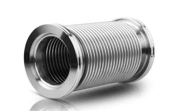 Manguera flexible KF-16 Tubo de tubo corrugado al vacío de acero inoxidable de 500 mm