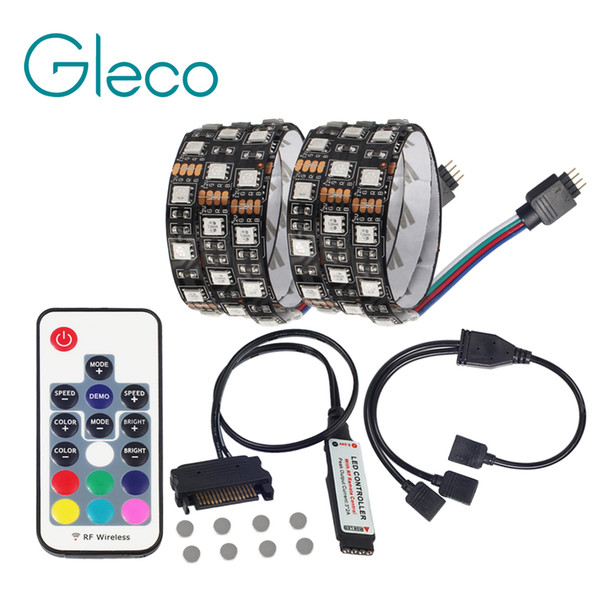 5050 rgb led strip light magnetic ip20 for pc computer case sata 5050 rgb led strip light magnetic ip20 for pc computer case sata power supply interface aloadofball Gallery