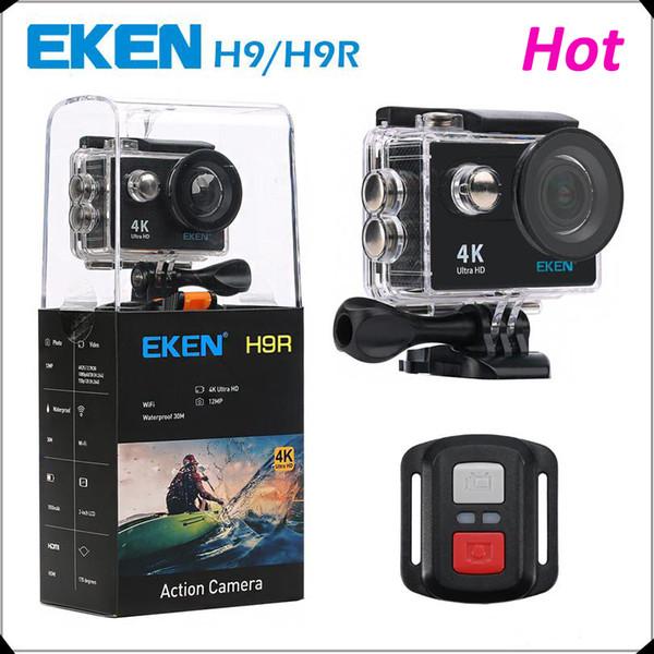 Original EKEN H9 H9R with remote control Ultra HD 4K WiFi HDMI 1080P 2.0 LCD 170D pro Sports camera waterproof MOQ:1PCS