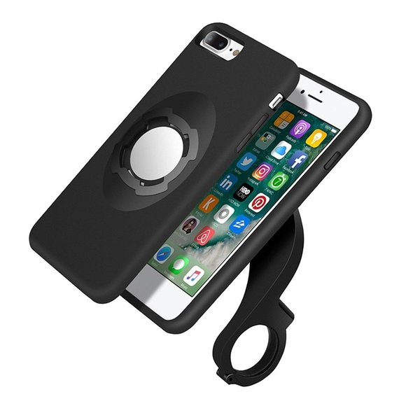 Bike Bicycle Phone Mount Holder Car Magnetic Holder for iPhone 7 7 Plus 4.7 5.5 inch Shockproof Case Holder Multi-Function Kit With Box
