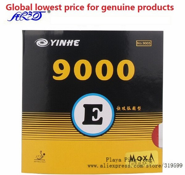 Yinhe 9000e arc type Pips-In Table Tennis (PingPong) Rubber With Sponge