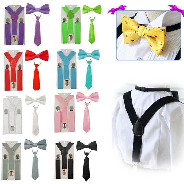 Compre moda meninos garganta criana suspender ajustvel elstico y moda meninos garganta criana suspender ajustvel elstico y back braces baby suspenders set bow tie ccuart Images