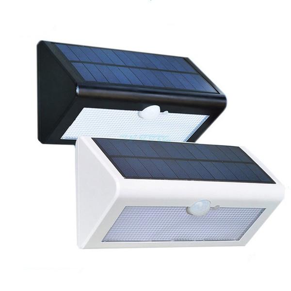 38 LED solar Waterproof IP65 courtyard lamp, light control / human induction lamp household lighting street lamp wall