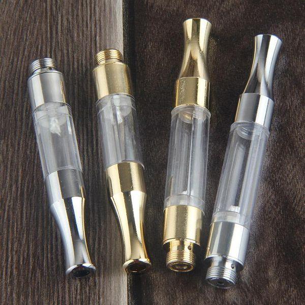 Top G2 BUD Touch 510 Cartridges Tank gold stainless steel drip tips WAX Thick Oil Vaporizer Atomizers CE3 O Pen vapor Mini cartomizers