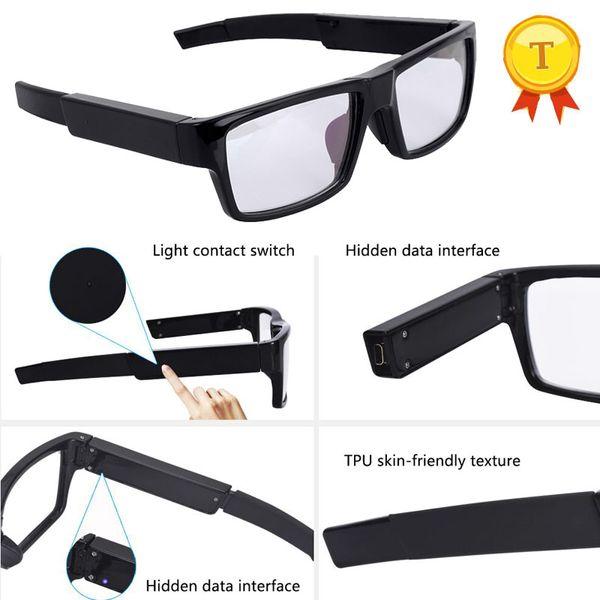 Chine en gros smart vidéo lunettes snapshot lunettes conduite enregistreur lunettes de soleil 1080 P caméra pour Outdoot Sports avec 1080 P