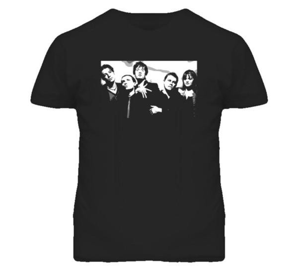 Пульпа 90-х годов рок-группа T ShirtMens 2018 модный бренд футболка О-образным вырезом 100%хлопок футболки топы Tee