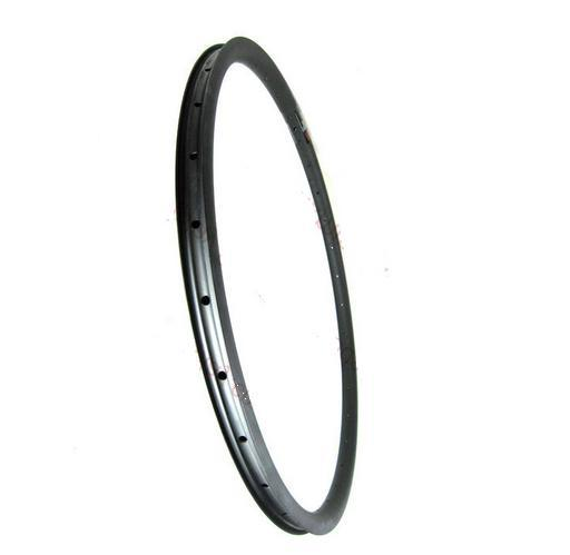 Top Quality 29 Inch Full Carbon Fibre Mountain Bikes Hookless Rims Fibre Wheel 30mm Width 25mm Depth MTB Rims UD Matte24/28/32h