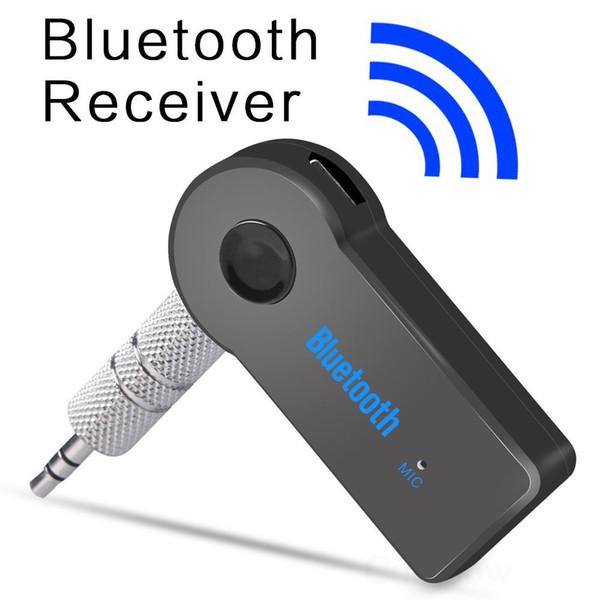 Stéréo 3.5 Blutooth Sans Fil Pour Voiture Musique Audio Récepteur Bluetooth Adaptateur Aux 3.5mm A2dp Pour Casque Récepteur Jack Mains Libres