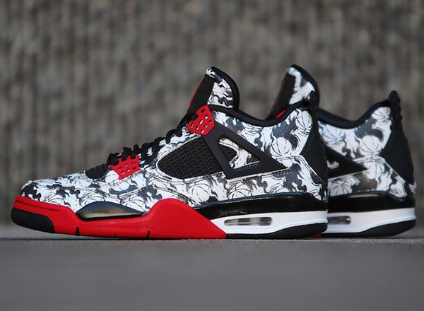 HOT Singles Day designer shoes 4s basketball shoes sports mens shoes Tattoo Gym Red Chicago Midnight Navy luxury 4 running Athletic sneakers