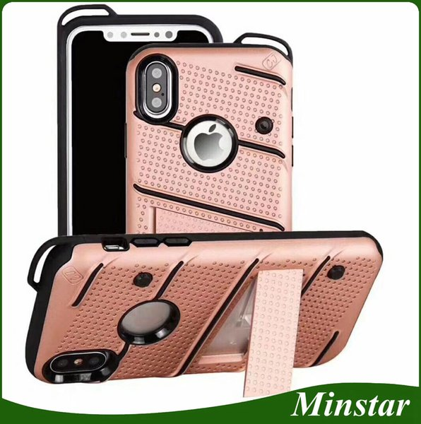 2018 Hottest New Models for Samsung Phone Case with Lanyard Hole S8 S9 Plus Note 8 Note 9 Case Kickstand Cover