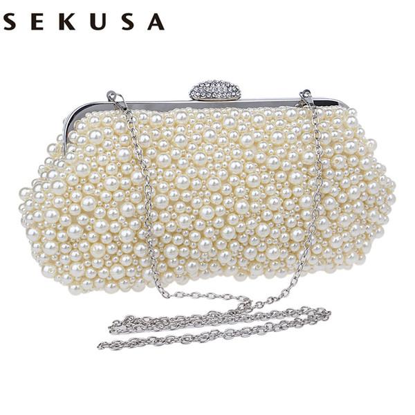 Mujer SEKUSA De Bolsos Compre Cristal De De Noche Pequeños Bolsos 47UFqwX8