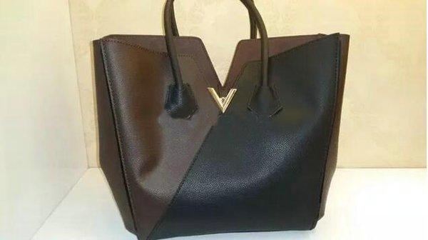 Borsa della borsa del kimono della borsa del cuoio genuino di qualità di modo Borsa della borsa del totalizzatore delle donne della borsa di vendita calda più nuova di stile classico M40460 #