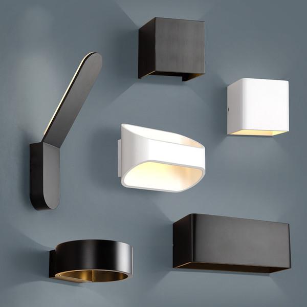 Acheter Moderne Simple Lampe De Style Nordique Applique Murale Pour Salon Chambre Etanche Interieur Exterieur Jardin Porche Lampes Murales De 40 77