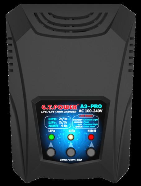 F24744 GTP A3 PRO Battery Charger AC 110-240V 50/60Hz 16W 2A Power Supply No Adapter RC Car Drone 2-3S Li-Po Li-Fe 4-8S Ni-MH Ni-Cd