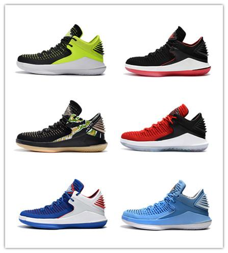 New 32 low cut Flight Speed 10.18 men basketball shoes 32s sports sneakers red fashion trainers outdoor athletics with box size 40-46