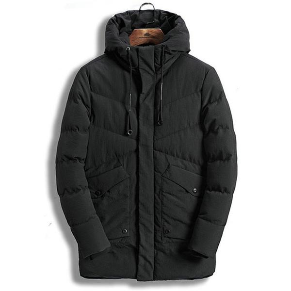 Drop shipping Men's Winter Jackets Thick Hooded Collar Parka Men Coats Casual Padded Men's Jackets AXP153