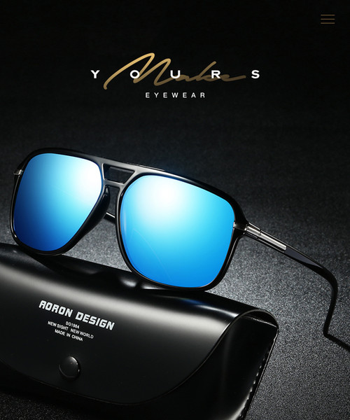 ce159a9fff Wholesale New polarized sunglasses sunglasses colorful classic polarizer glasses  factory direct wholesale A523 cheap prcie with best quality