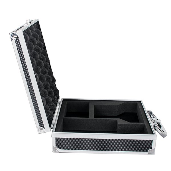Color Black Aluminum Tool Box Case Container Fit for Dentist Dental Binocular Loupes Optical Glass Loupe