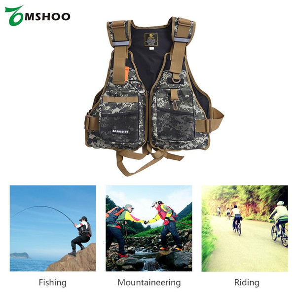 Professional Life Vest Life Safety Fishing Clothes High Quality Jacket Water Sport Survival Suit Water Safety Products