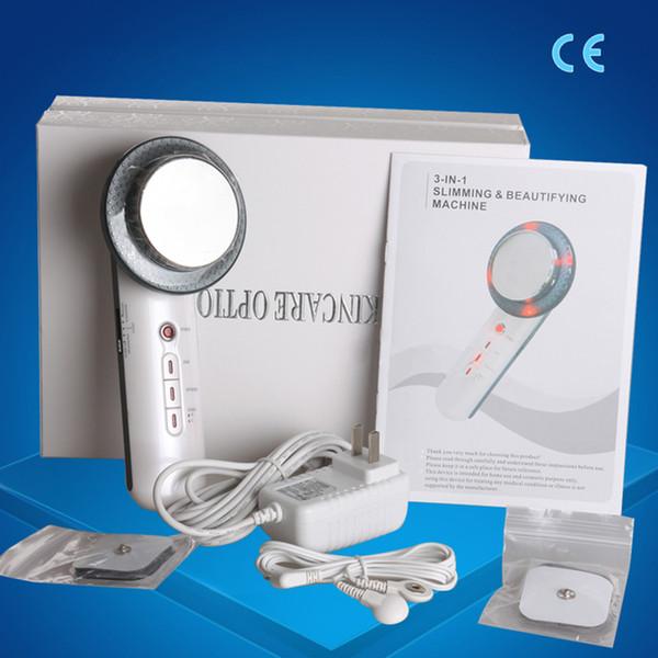 Livraison gratuite !!! Ultrasons 3 en 1 Machine à ultrasons Cavitation Soins Minceur Visage EMS Amincissant Massager perte de poids Lipo CE