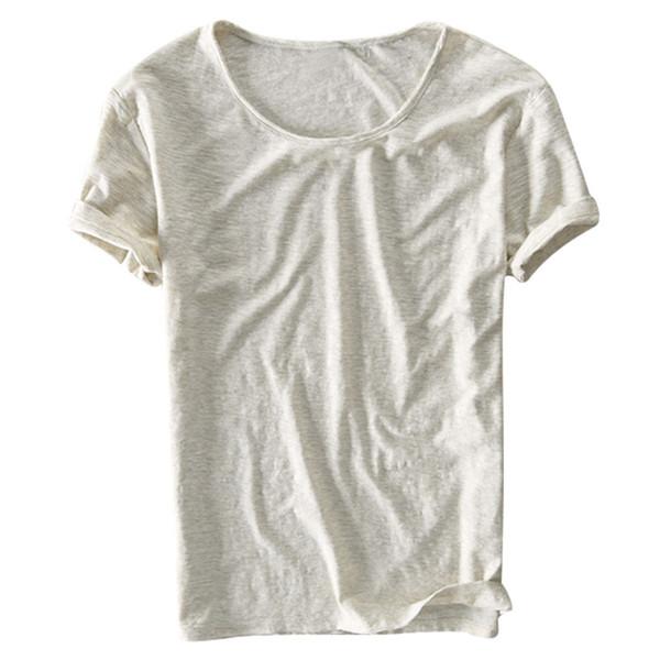 라이트 그레이 T 셔츠