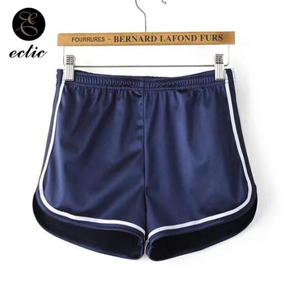 Pole Dance Fitness Falda Pantalon Corto Cintura alta Satén Pantalones cortos  holográficos lisos Pantalones cortos Mujeres brillantes Pantalones cortos de  ... 69d0d90ed27b