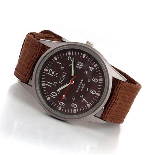 2018 new, authentic SOKI lovers watch, fashion watches,luminous surface man sportswrist watch, ladies casual watch,calendar