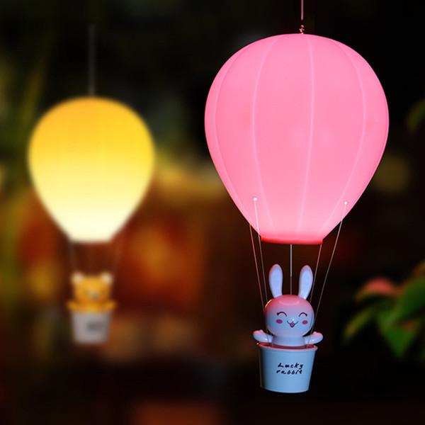 Großhandel USB Wiederaufladbare Wandlampe LED Nachtlicht Dimmbare  Heißluftballon Kinder Baby Kinderzimmer Lampe WithTouch Schalter Von  Starmarket, ...