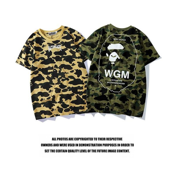YONGM Men Regular Fit Printed Dress Shirt-Camouflage Print Short Sleeve Shirt