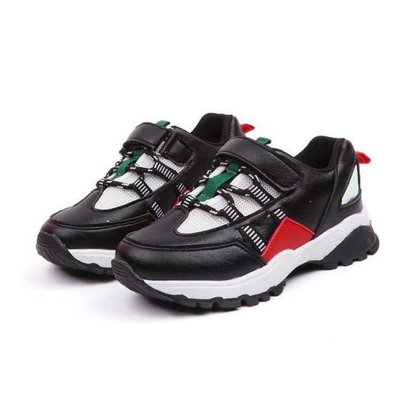 Unisex Ayakkabı Çocuk Örgü Ayakkabı Boys Için Nefes Rahat Ayakkabılar Çocuk Sneaker Kız Ayakkabı # 7 Sonbahar 2018