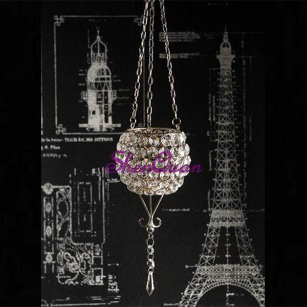 новый дизайн стеклянный подсвечник для свадебного украшения, хрустальный шар с подсветкой, выполненный на заказ подсвечник