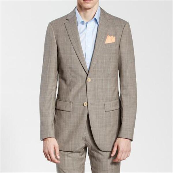 2018 Nuovi uomini d'affari di moda si adatta 2 pezzi (giacca mutanda) di alta qualità Slim Fit Blazer formale Prom Terno vestiti moda