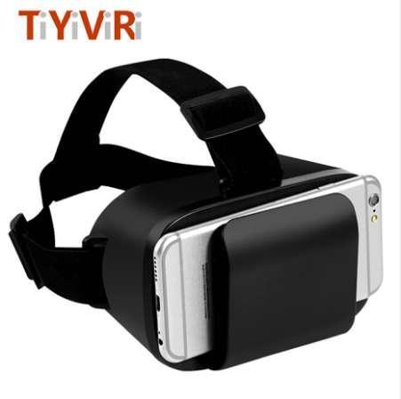 VR 3D Sanal Gerçeklik Gözlükleri 360 Panorama Video Gözlüğü Karton Kulaklık Için 4.7-6.0