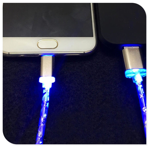 Light-Up Led Usb Data Charger Cable Charging Cord For Android Cell Phone Adapter