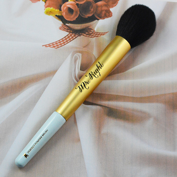 Brand Makeup Brushes Mr Right Perfect Powder Brush Blending Blush Foundation Bronzer Contour Makeup Brushes Dhl Makeup Kits Makeup Online From Wsyxh