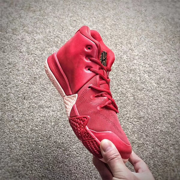 new concept 2592f 2af01 2017 2018 Cny Kyrie 4 Chinese New Year Men'S Kyrie Irving 4s Red Basketball  Shoes Sneakers Embroidered Flowers 943807 600 With Original Box 40 46 From  ...