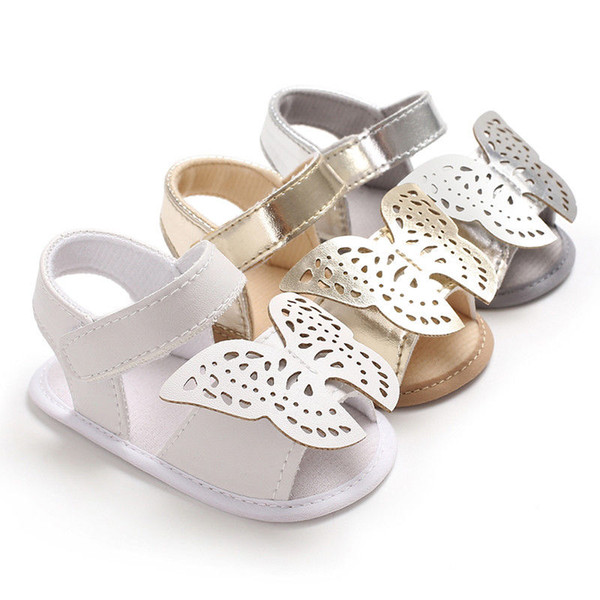 Baby Infant Kid Boy Clothes Soft Sole Crib Toddler Summer Sandals Shoes 0-18M