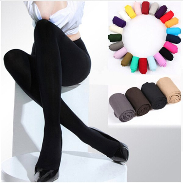 Hot Sale Winter Warm Women Stockings Beauty Girls 120D Thick Stockings Pantyhose Opaque Footed Tights Lady Sexy Pantyhose
