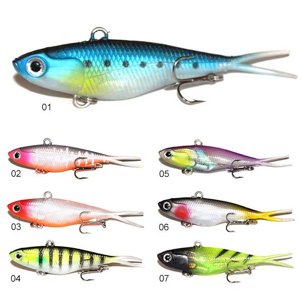 best selling Soft Vibe Lure 115mm Blade VIBE Soft Bait Plastic Fishing Lure Salmon Barra Flathead BreamSoft Vibe Fishing