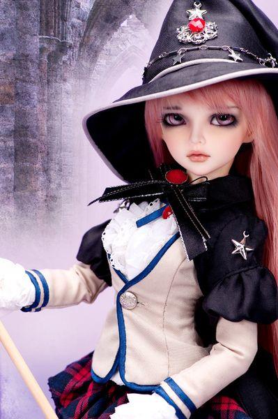 stenzhorn BJD Doll 1/4doll minifee mirwen Joint Doll Free Eyes