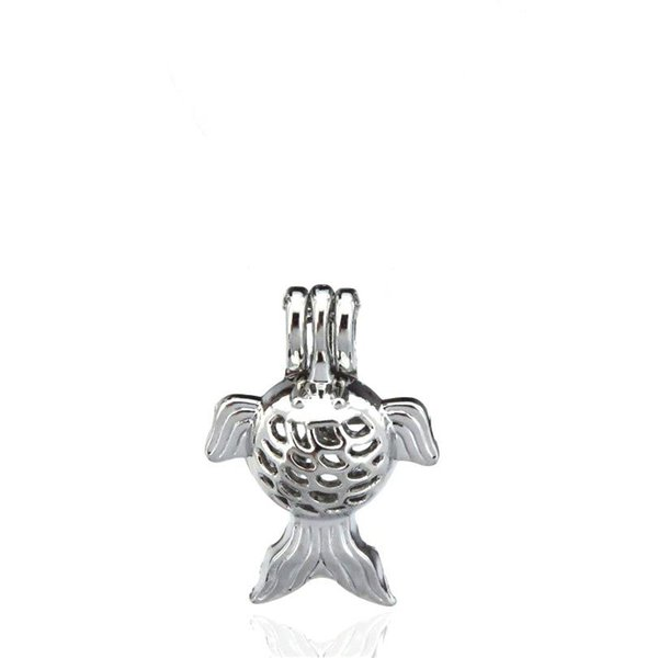 10pcs/lot Silver Alloy Animal Star Fish Beauty Oysters Beads Cage Locket Pendant Aromatherapy Perfume Essential Oils Diffuser