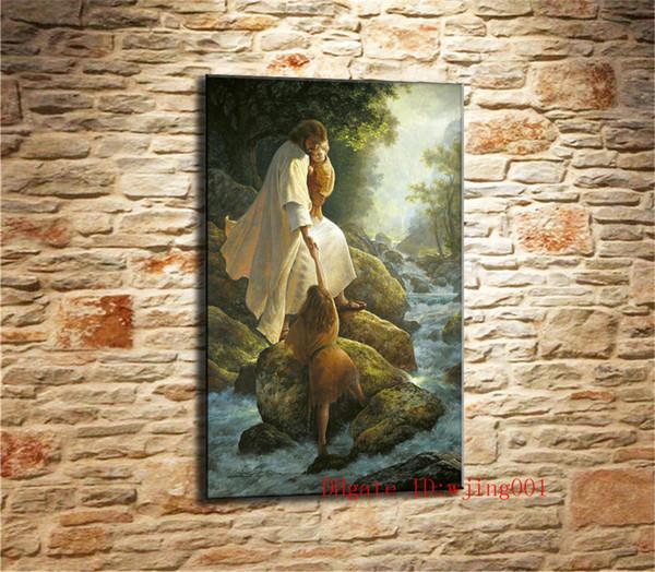 Jesus Christ Lds Greg Olsen-1 , Canvas Pieces Home Decor HD Printed Modern Art Painting on Canvas (Unframed/Framed)