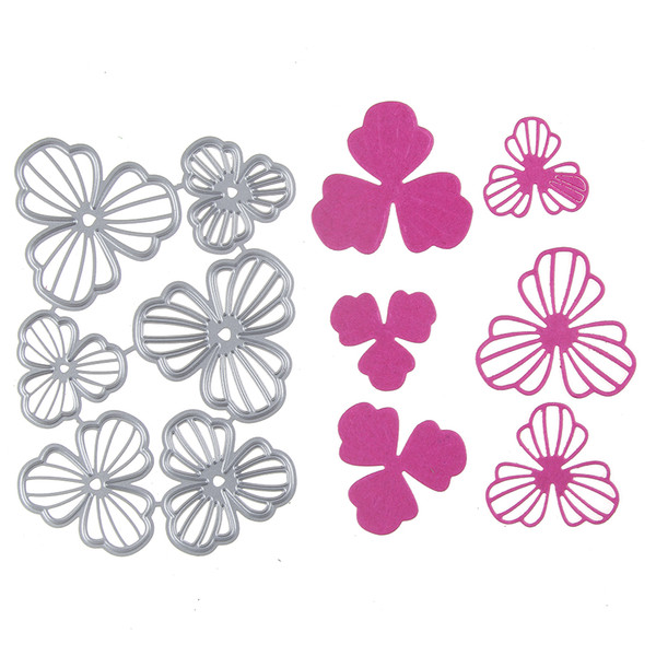 1 set Metal Steel Flower Frame Cutting Dies Stencil For DIY Scrapbooking Album Paper Card Photo Decorative Craft