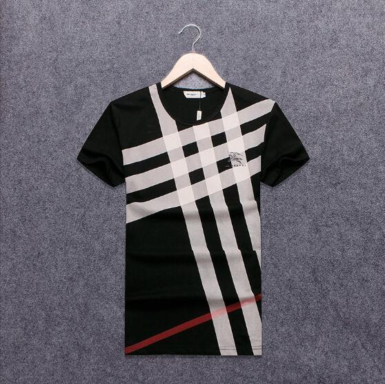 2018 NEW Hot Sale T-Shirt Men Shortsleeve Stretch Cotton Jersery Tee Men's Embroidery Tiger Printed Bird Snake Crew Collar T -Shirt #2080