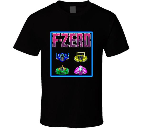 F-null Snes klassisches Videospiel-T-Shirt T-Stück Retro Gamers Geschenk neu von US 100% Baumwolle Kurzhülse O-Ansatz übersteigt T-Shirts
